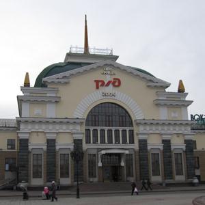 Железнодорожные вокзалы Красноуральска